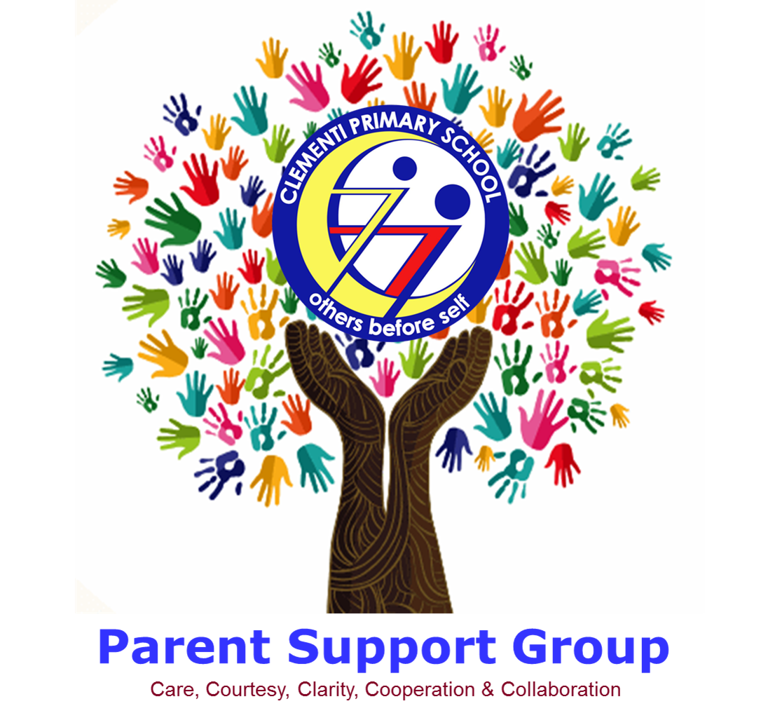 Clementi Primary School Parent Support Group Logo